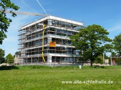 Auf der Freiheit Schleswig Bau erstes Strandhaus