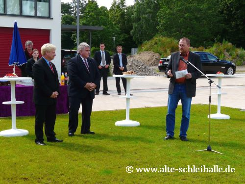 Auf der Freiheit Schleswig Neubau Schleipromenade und Regattaplatz