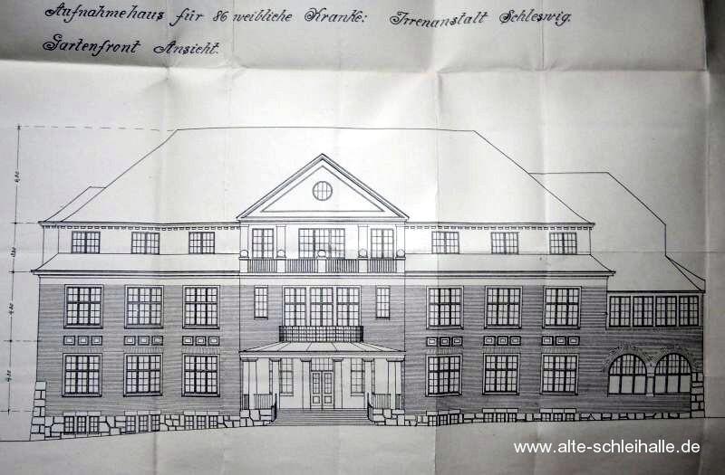 Bauzeichnung Haus S Gartenansicht