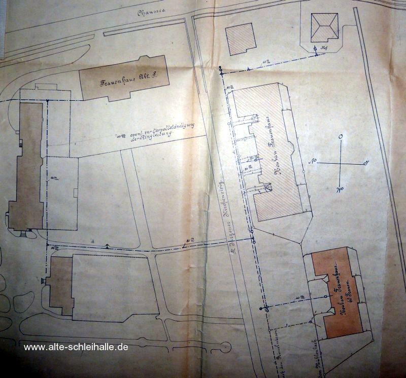Lageplan 1913