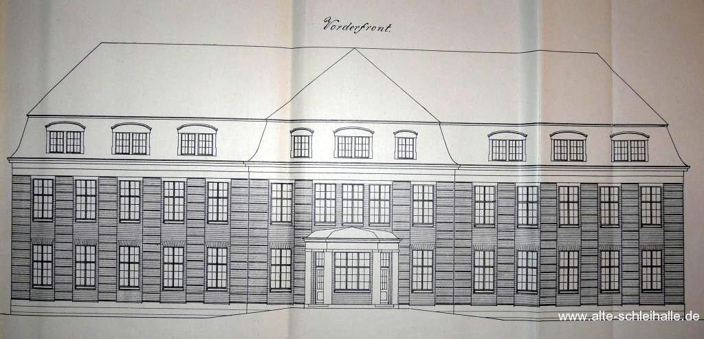 Bauzeichnung Haus U