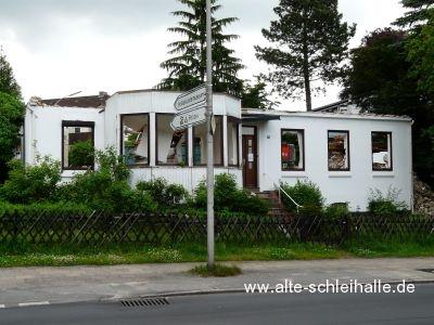 Abbruch Flensburger Straße Nr.26