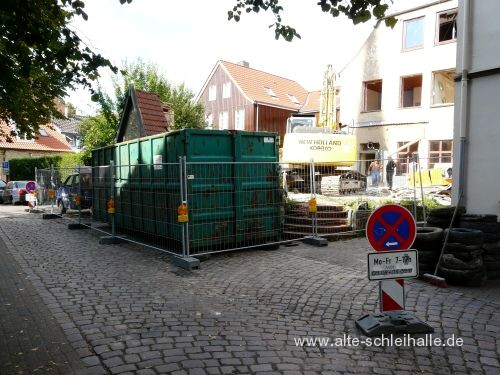 Abbruch Rathausmarkt 17 Schleswig