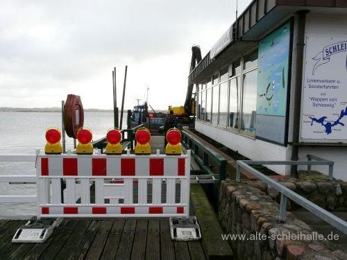 Schleihallenbrücke Schleswig