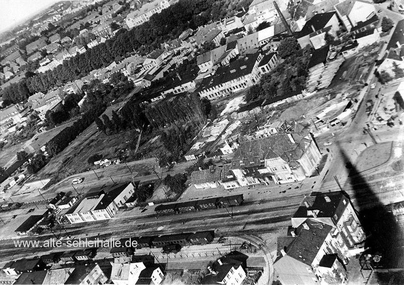 Blick vom Domturm 1953