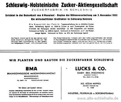Zuckerfabrik Schleswig