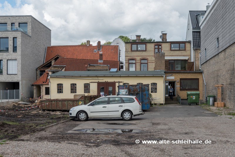 Mackrott-Grundstücke / Abbruch begonnen