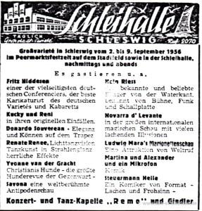 SN Anzeige 1.September 1956
