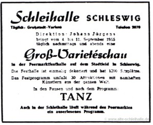 Anzeig SN 3.September 1955