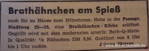 Anzeige SN 19.Dezember 1960