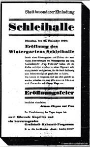 Eröffnungs-Anzeige 19.Dezember 1936