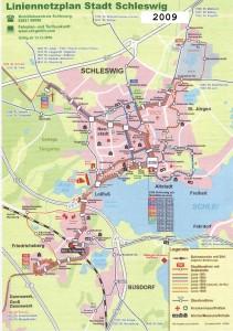 Linienplan 2009