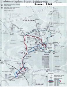 Sommer-Fahrplan 1962