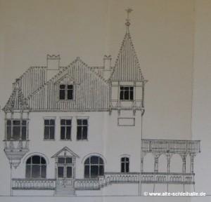 Bauzeichnung 1892