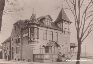 Schleihalle um 1892