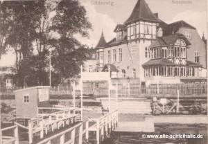 Schleihalle um 1900