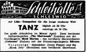 Annonce SN 01.April 1965