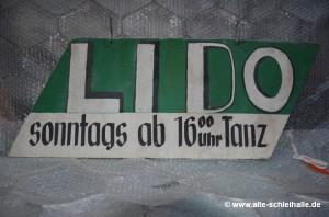 Lido-Schild, Eingang Lollfuß