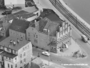 Die Schleihalle um 1955