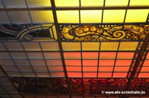 Bleiglasdecke der Cap Polonio / Schleihalle