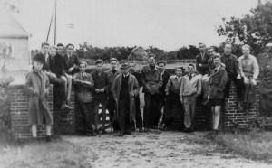 Klassenausflug 1950 nach Idstedt