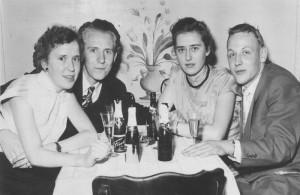 Silvester 1954 in der Stampfmühle