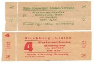 Fahrscheine Kirchberg