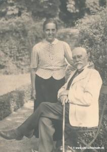 Mühlenbesitzer Wilhelm Berg und Frau Bandle.