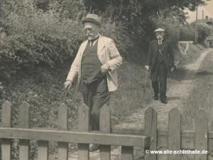 Mühlenbesitzer Wilhelm Berg.