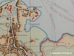 Stadtplan 1950