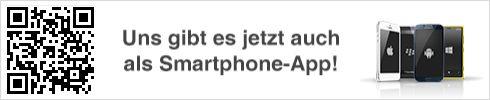 NEU - die kostenlose Schleihallen-App informiert über Neuigkeiten auf dieser Seite. Einfach den QR-Code mit dem Smartphone einlesen und den Anweisungen folgen.