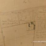 Lageplan 1913 mit dem Gebäude von Ehlert.
