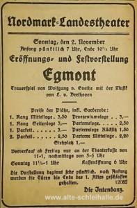 Eröffnung 2.November 1924
