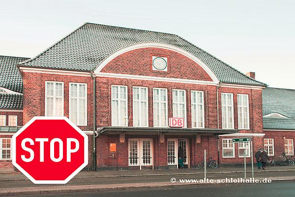 Event-Bahnhof: Baustopp bleibt bestehen