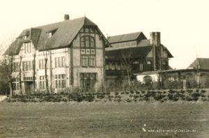 Küche, Wäscherei und Werkstätten, um 1950 LKH Hesterberg