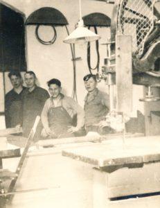 Tischlerei LKH Hesterberg um 1950